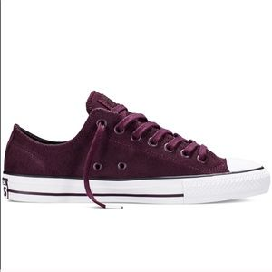 Converse black cherry purple women's shoes new